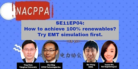 How to achieve 100% renewables? Try EMT simulation first tickets