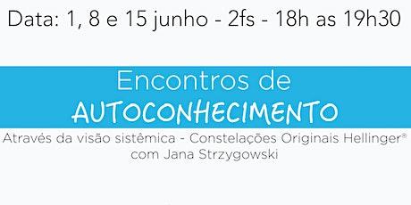 Encontros de AUTOCONHECIMENTO com Jana Strzygowski - on-line entradas
