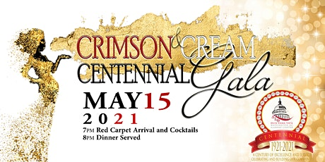 WDCAC Delta Sigma Theta Sorority, Inc. Crimson & Cream Centennial Gala tickets