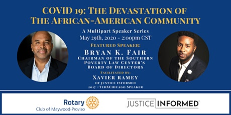 COVID-19 in the African American Community Series: Bryan K. Fair tickets
