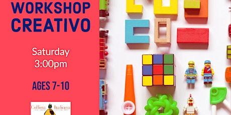 Italian Workshop: Arts&crafts - 7-10yo tickets