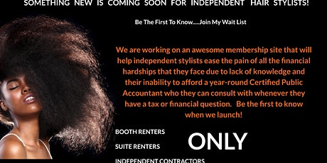 Business Financial Help For Independent Hair Stylists tickets