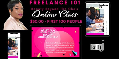 Freelance 101 Beauty Beyond The Chair Virtual Group Class  tickets