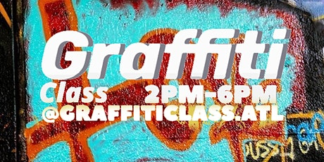 Graffiti Art Class tickets