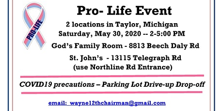 W12CDRC-ProLifeEvent 2.0 (Event to aid LPCPC) tickets