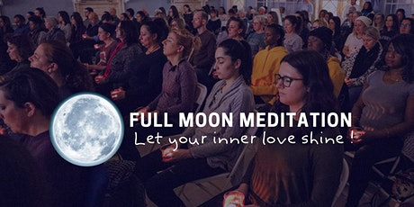 Full Moon Meditation, Radiate Boundless Love to The Entire World tickets