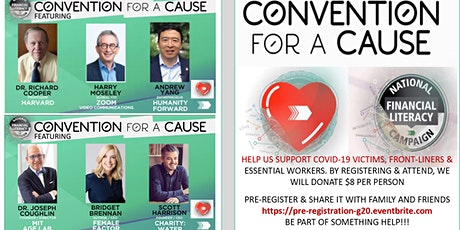 Copy of Convention for a Cause - National Financial Literacy Campaign tickets