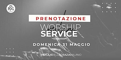 Live Worship Service Pdg Milano biglietti