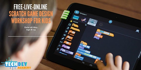 Scratch Game Design Workshop for Kids tickets