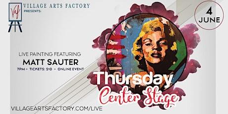 Thursday Center Stage with Matt Sauter tickets