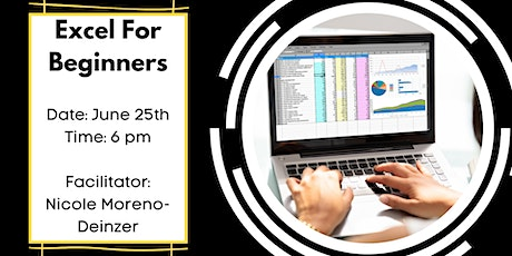 Microsoft Excel/Google Spreadsheets For Beginners tickets
