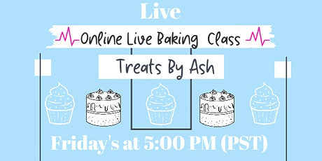 Live Virtual Baking Classes for Kids & Teens by Teens tickets