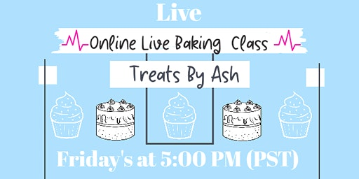 Live Virtual Baking Classes for Kids & Teens