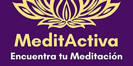 MeditActiva - Meditaciones Activas de varias etapas por Youtube  Live entradas