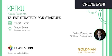 Talent Strategy for Startups tickets