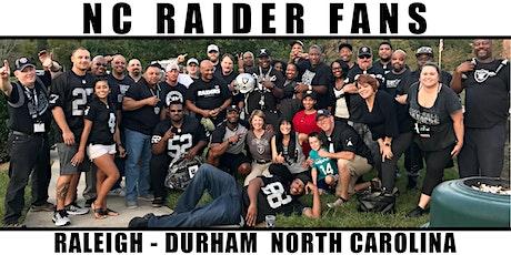 Raider Fans: Las Vegas  Raiders vs. New England Patriots Watch Party tickets