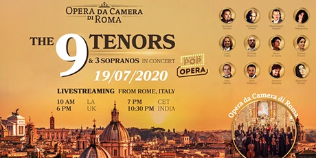 THE 9 TENORS & 3 SOPRANOS – LIVE CONCERT FROM ROME tickets