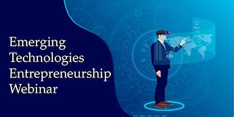 Emerging Technologies Entrepreneurship Hackathon Webinar entradas