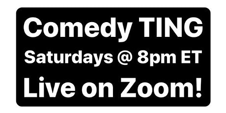 Comedy TING tickets