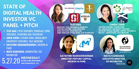 Pitch Your Digital Health Tech Startup to Investor Panel of VCs and Angels (On Zoom) tickets