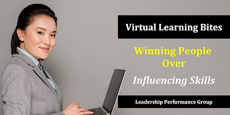 Winning People Over: Influencing Skills (Online) tickets