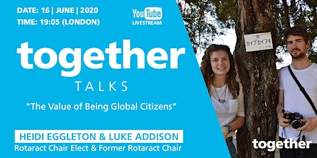 """The value of being global citizens"" with Heidi Eggleton & Luke Addison tickets"