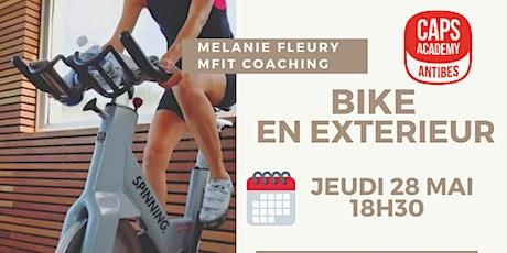 Bike en extérieur avec Mélanie Fleury billets