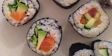Online Sushi Making Class Class tickets