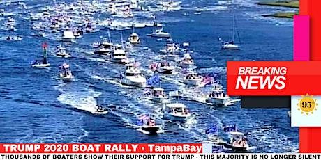 TRUMP 2020 BIRTHDAY BOAT RALLY - TAMPA BAY tickets