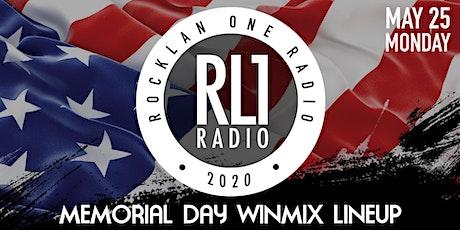 RockLan One Radio - RL1 Radio - Memorial Day DJ WinMix tickets