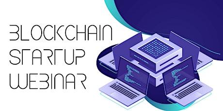 Blockchain Startup Hackathon Webinar entradas
