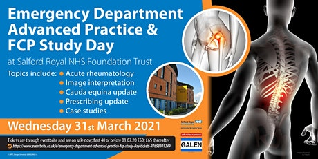 Emergency Department Advanced Practice & FCP Study Day tickets