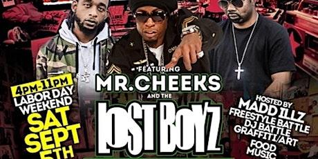 Old School BLOCK Party w Mr Cheeks & The Lost Boyz tickets