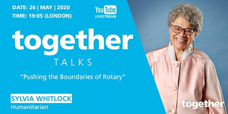 """Pushing the boundaries of Rotary"" with Dr Sylvia Whitlock tickets"