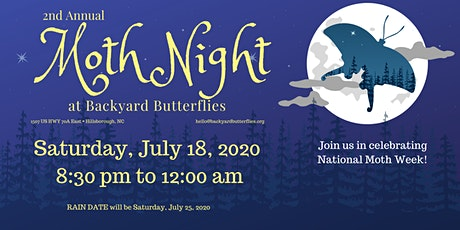 2nd Annual Moth Night tickets