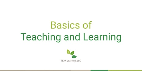 [Free Webinar] Basics of Teaching and Learning tickets