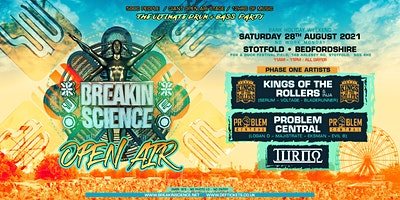 Breakin Science Open Air Poster