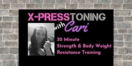 X-Press Toning with Cari tickets