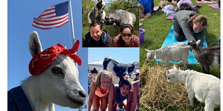 Namaaaaste Goat Yoga on the Farm tickets