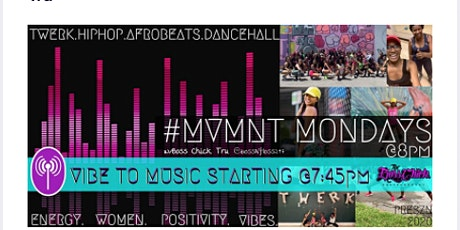 #MVMNT Mondays: Twerk Cardio w/Boss Chick Tru tickets