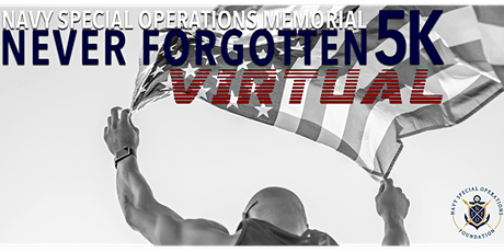 Never Forgotten Virtual 5k | *Formerly* Memorial Day Run @ Liberty Station tickets