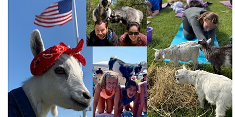 Namaaaste Goat Yoga on the Farm tickets