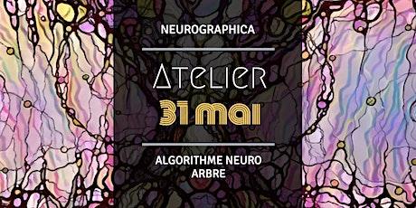 "Atelier de Neurographica - algorithme ""Neuro Arbre"" billets"