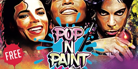 Off The Wall - The MJ Virtual Sip & Paint Experience tickets