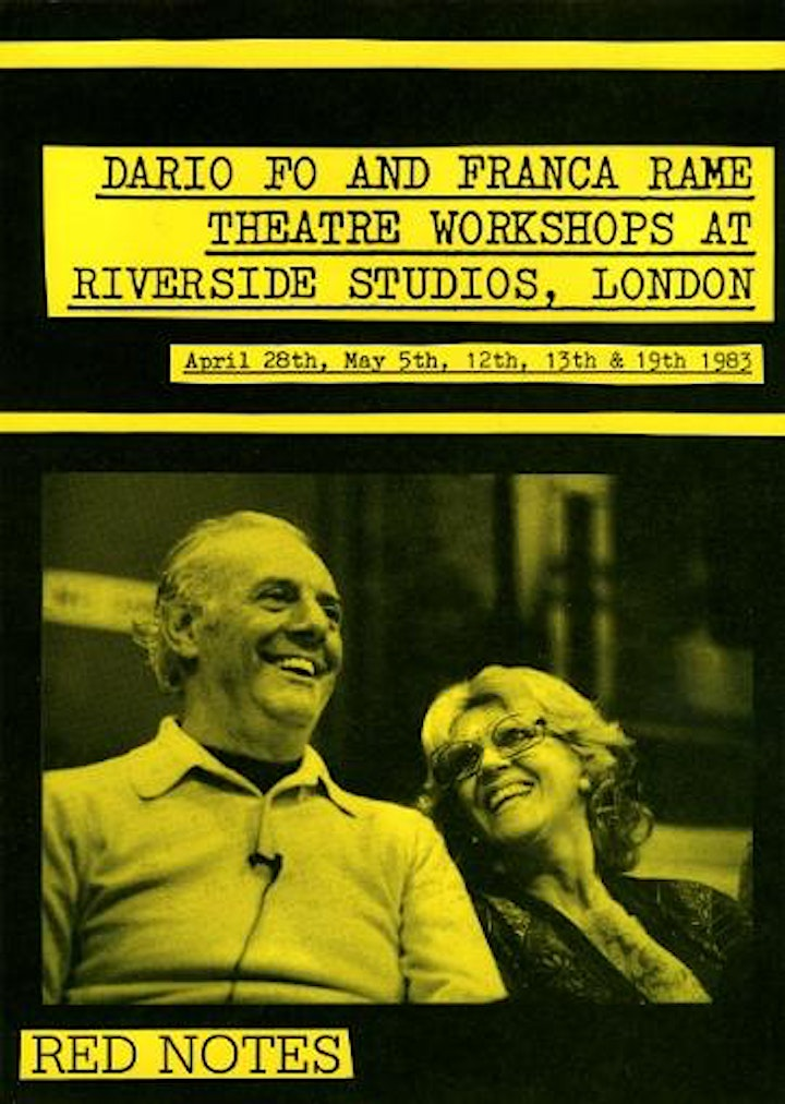 Dario Fo and Franca Rame in translation image