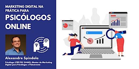 Introdução ao Marketing Digital na Prática para Psicólogos Online ingressos