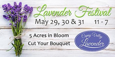 2020 Lavender Festival (in the COVID era) tickets