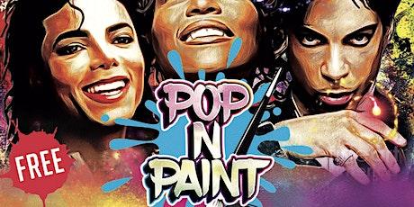 Purple Rain - Prince Virtual Sip & Paint Experience tickets