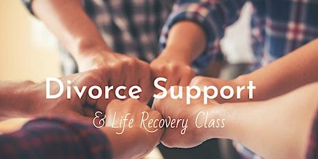 10-Week Divorce Support Class & Life Recovery Program tickets