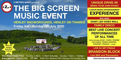 THE BIG SCREEN  MUSIC EVENT tickets